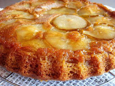 Épices & moi - Gâteau renversé aux poires