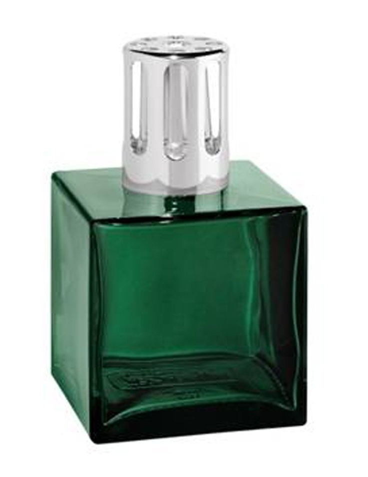 Luxury Cube Green Lampe Berger Lamp