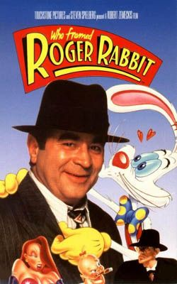 "a 1988 American fantasy comedy film that combines live action and animation. The screenplay is set in 1947, where cartoon characters, commonly called ""toons"", are living beings who act out cartoons in the same way that human actors make live-action production."