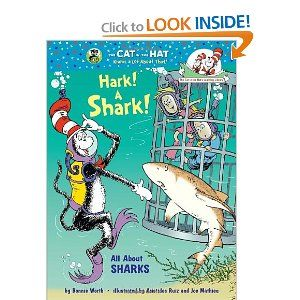 Hark! A Shark!: All About Sharks (Cat in the Hat's Learning Library): Bonnie Worth, Aristides Ruiz, Joe Mathieu: 9780375870736: Amazon.com: Books