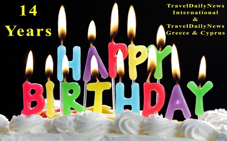 "5th of April !!! 14 Years ""TravelDailyNews International"" & ""TravelDailyNews Greece & Cyprus"", since 1999."