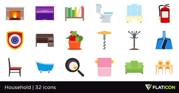 32 free vector icons of Household designed by Revicon