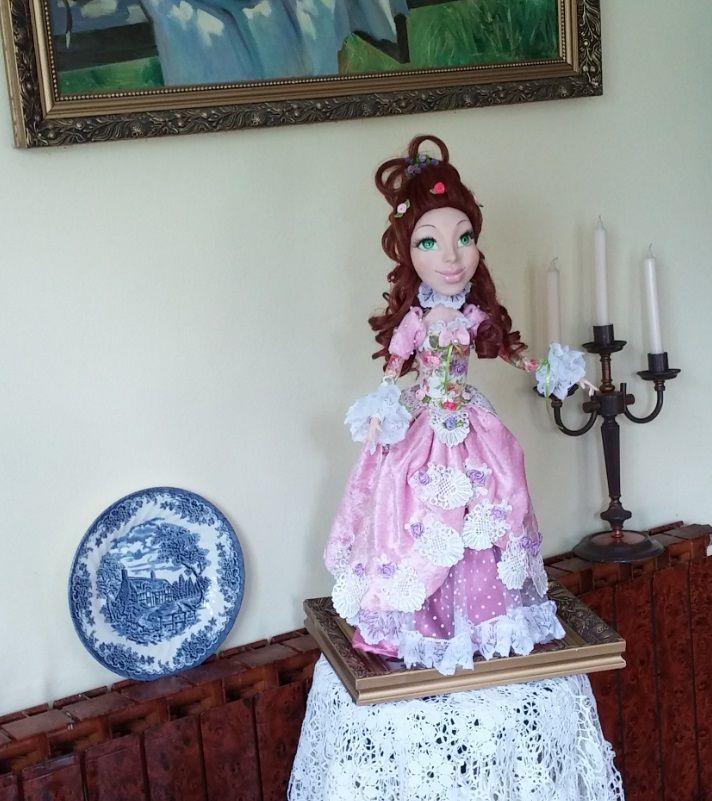 Art doll. Handmade. Кукла ручной работы.