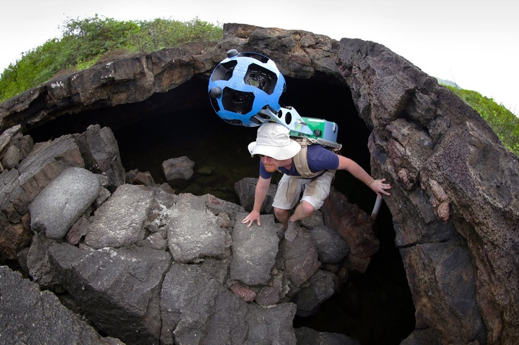 Google captures the Galapagos in Street View