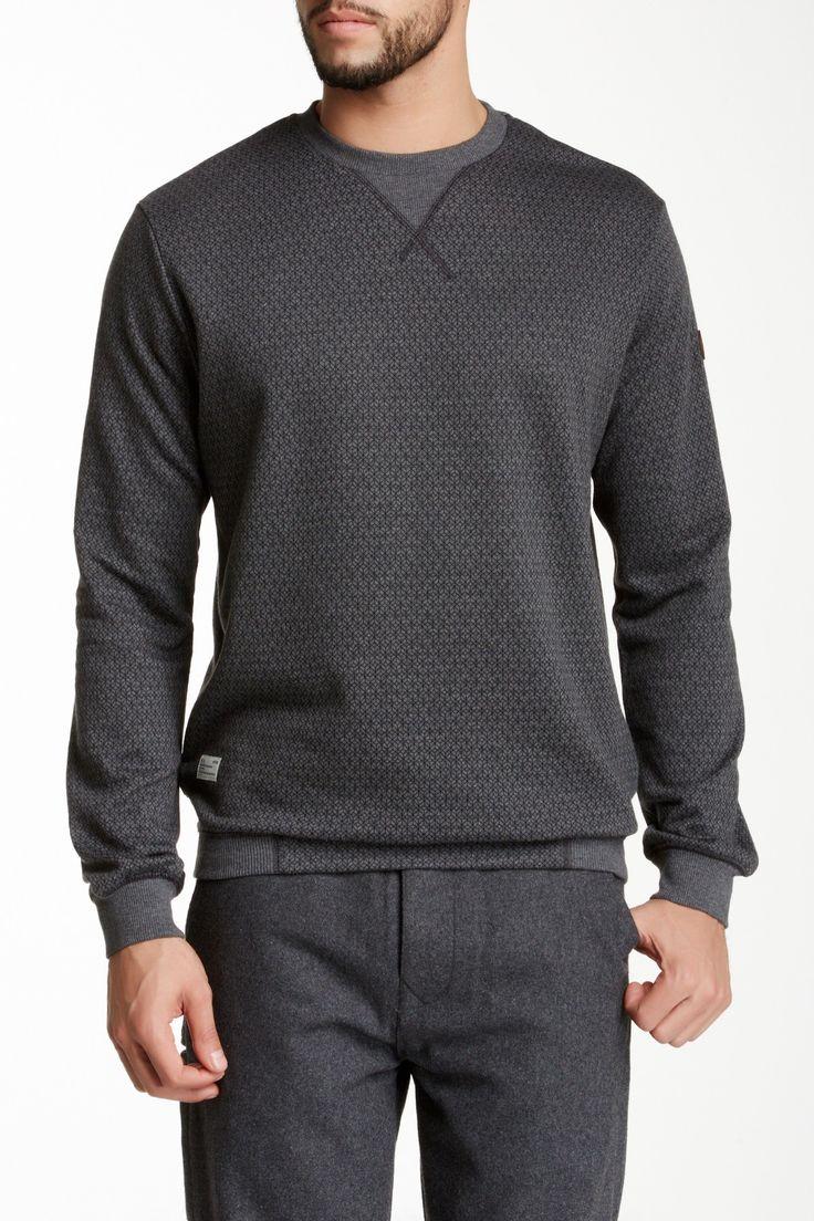 Marshall Artist Isometric Sweatshirt: Grey