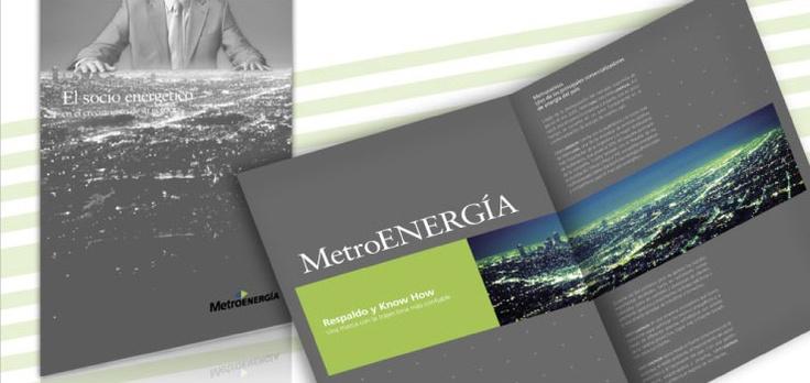 MetroENERGIA. Brochure institucional.