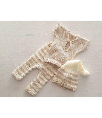 Newbornpakje beige/creme (nr2) Kleding / setjes
