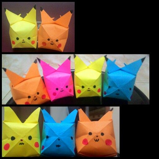 Origami Pikacuu