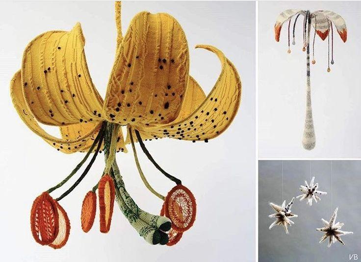 LIFESTYLE..Quando le biologhe, incontrano il KNITTING.. (i fiori non prendono più il raffreddore!) READ MORE on BNDThings.blogspot.com..