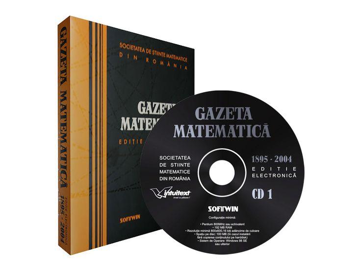 Gazeta Matematică  (Editia electronica a Gazetei Matematica - toate numerele din perioada 1895-2009)
