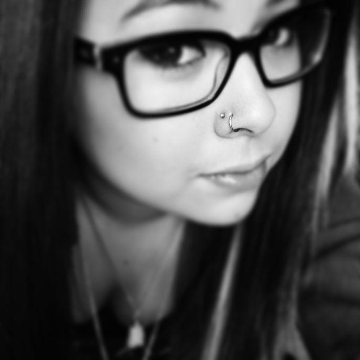 Double nose piercing | Tattoo & Piercings | Pinterest ...