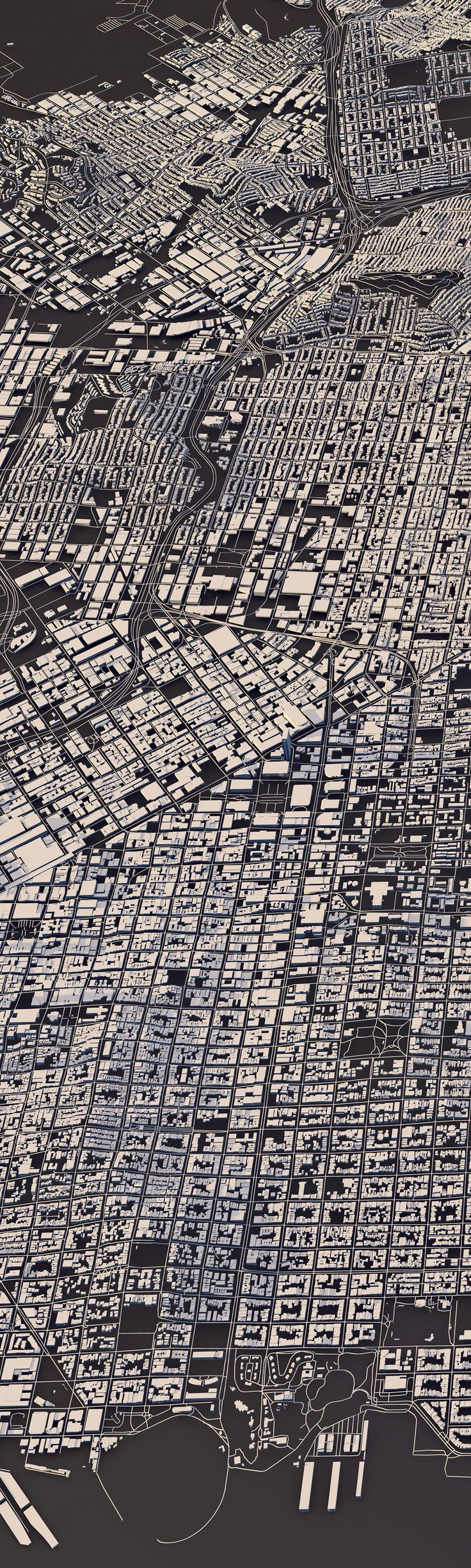 Topography, architecture and traffic routes give every city a unique structure.These conditions create the typical and individual inner structure of a city.I didn't only want to show these structures in the conventional way from above, but also includ…