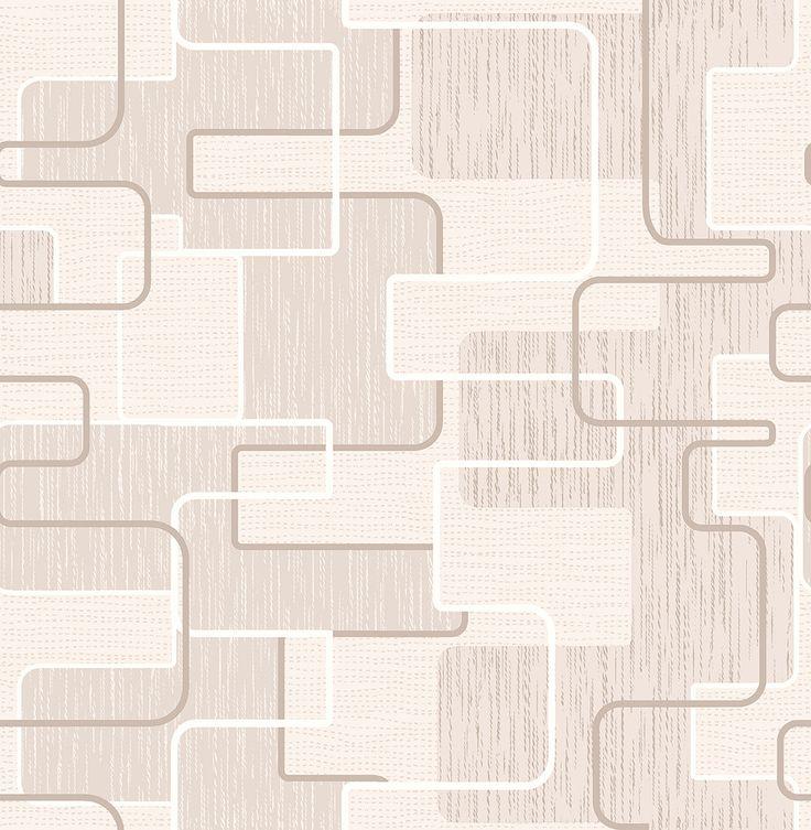 "33' x 20.5"" Balise Geometric Wallpaper"