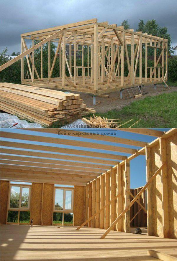 Строительство каркасного домов своими руками фото 380