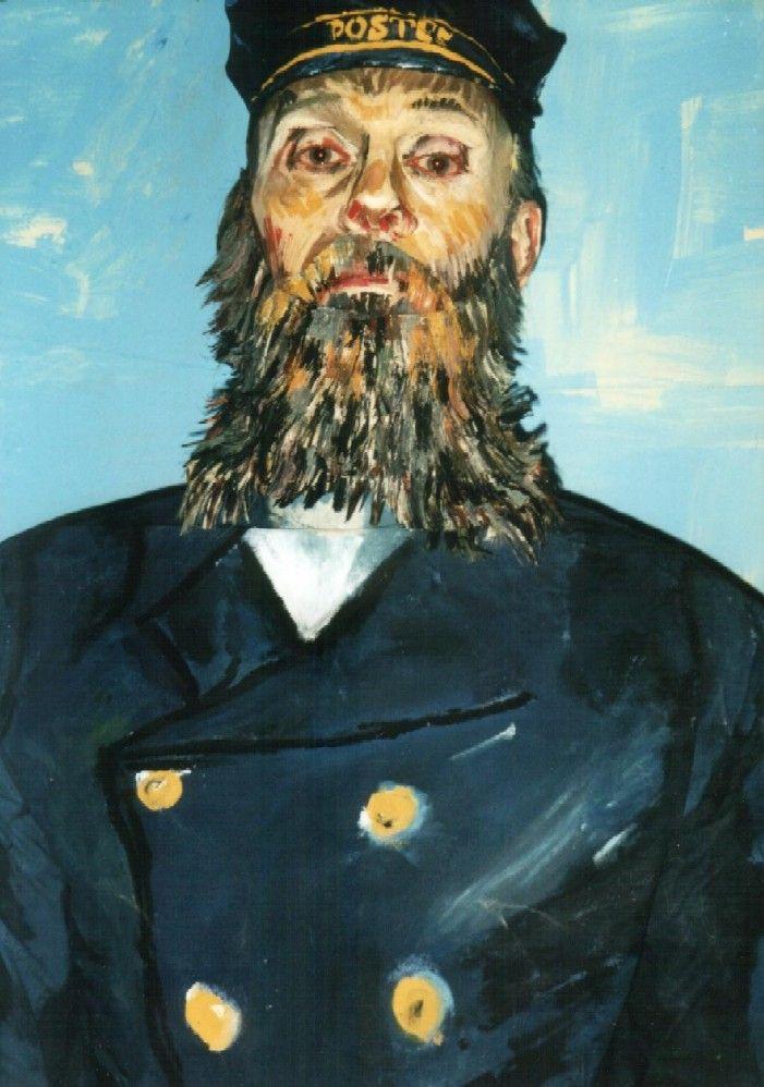 Chris Channing living painting - 'van Gogh'