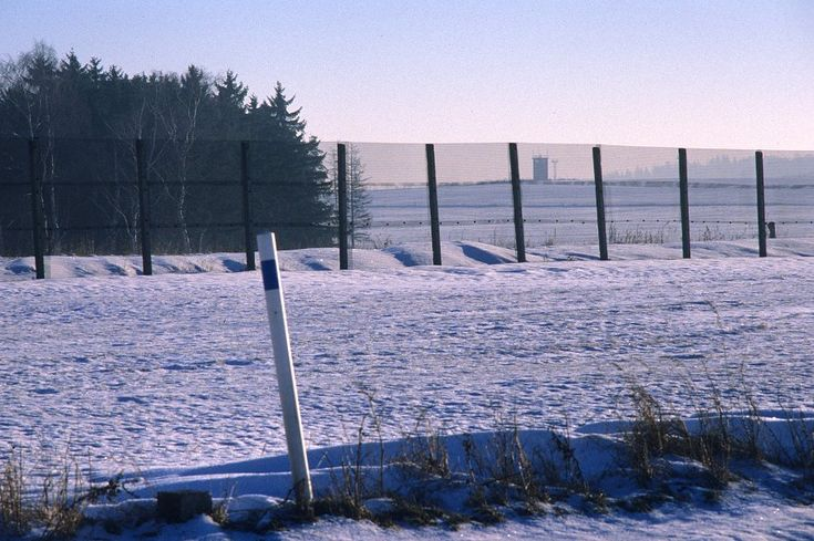 Innerdeutsche Grenze zwischen Mödlareuth und Münchenreuth
