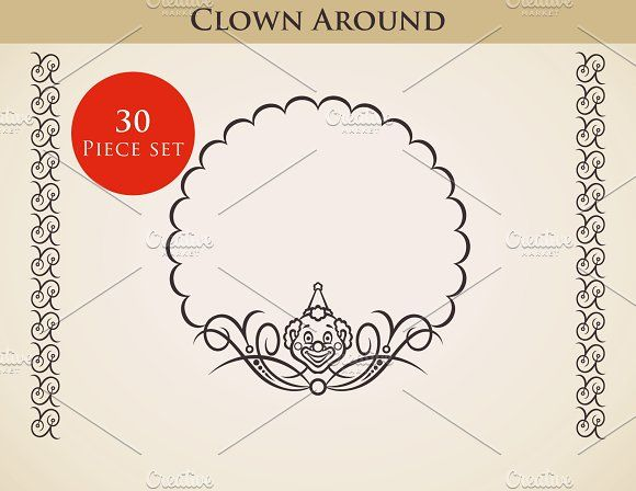 30 best circus business cards images on pinterest fonts clown around colourmoves