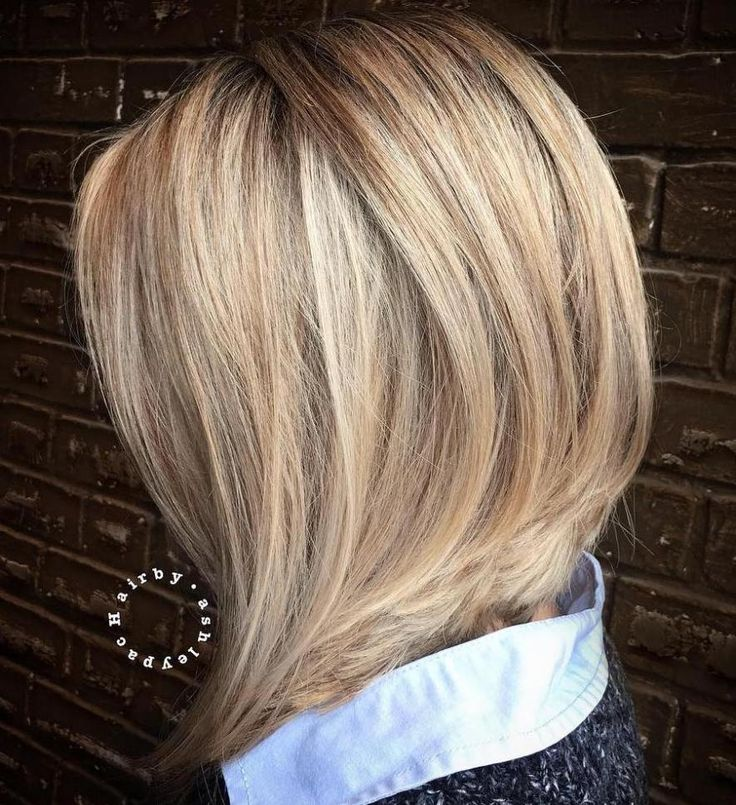 mid hair styles best 25 longer angled bob ideas on 6593