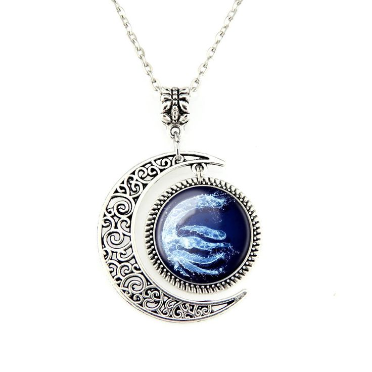 Moon Pendants Avatar the Last Airbender Necklace Legend of Korra Jewelry Water Tribe Pendant Necklaces