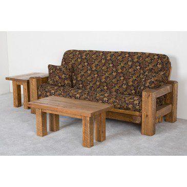 Viking Barnwood Futon - Barnwood-Loveseat-Futon-Dark-Pine from BEYOND Stores