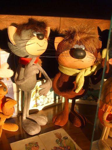 Foky Ottó: Bábfigurák