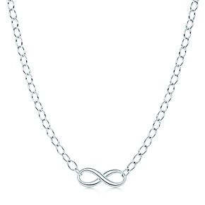 Collana Tiffany Infinity, in argento.