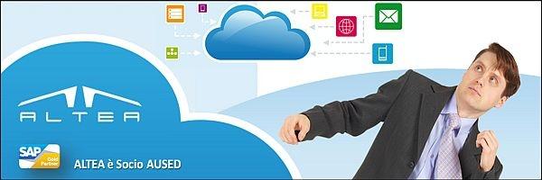 SAP Cloud & Social: incontro con SAP Italia e Partner. ALTEA partecipa all'evento del suo Partner AUSED (www.aused.org) per parlare dei nuovi scenari che sempre più influenzano il mondo IT. 24.05.2012 - Modena