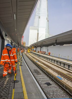 The pre-opening of platforms 14 & 15.  http://www.costain.com/news/news-releases/2014/3/20/rebuilding-london-bridge.aspx