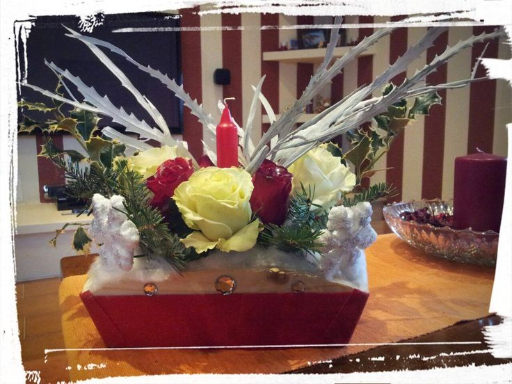 Chiristmas Centerpiece 2014 - my creation