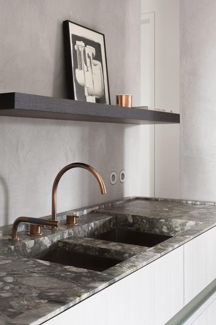 Cosmo condo kitchen showroom paris kitchens toronto - Kitchen Project H In Ardooie Belgium By Frederic Kielemoes