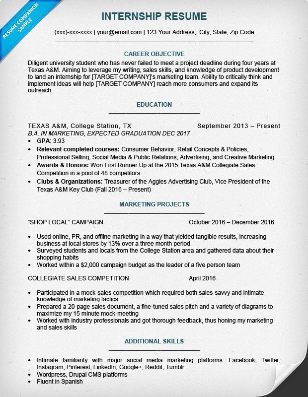 Resume Examples For College Students Resume Template Pinterest