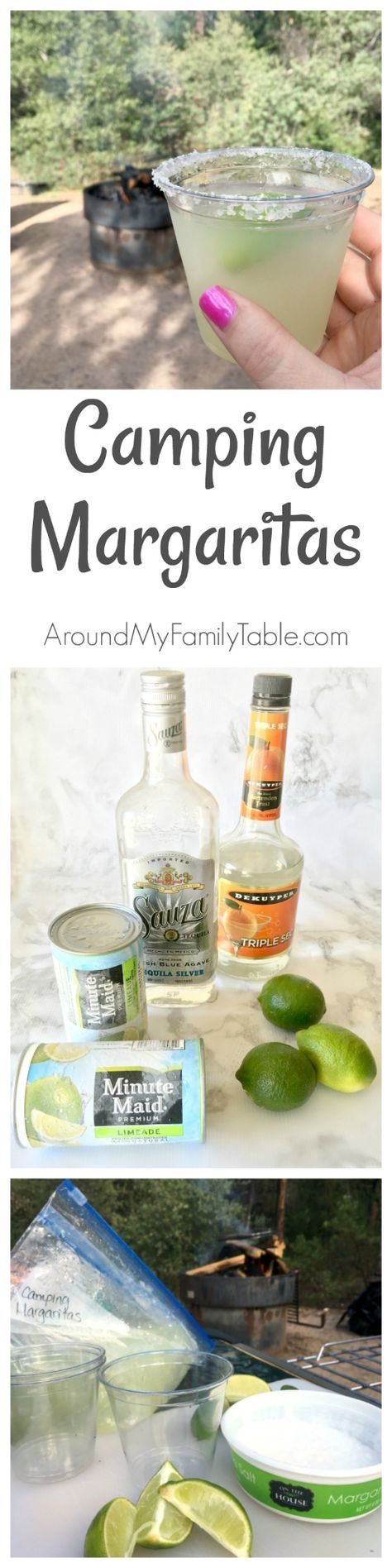 Make up a batch or two of these Camping Margaritas for delicious slushie on your next camping trip. These margaritas require some advance planning because they need time to freeze before the camping trip. As with any alcohol, they will not freeze solid. They turn into the most amazing slushie margaritas and they really couldn't be any easier. I've learned over the years to double bag my margarita... * Check out the image by visiting the link. #CampingTips