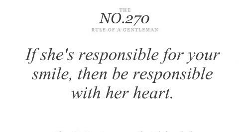 Quotes Rule of a Gentleman