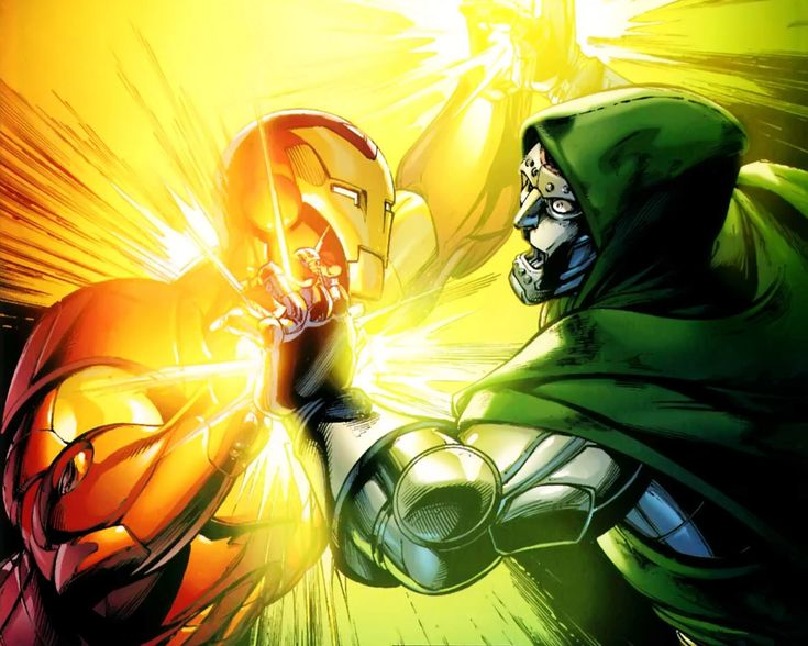 Dr. Doom vs. Iron Man