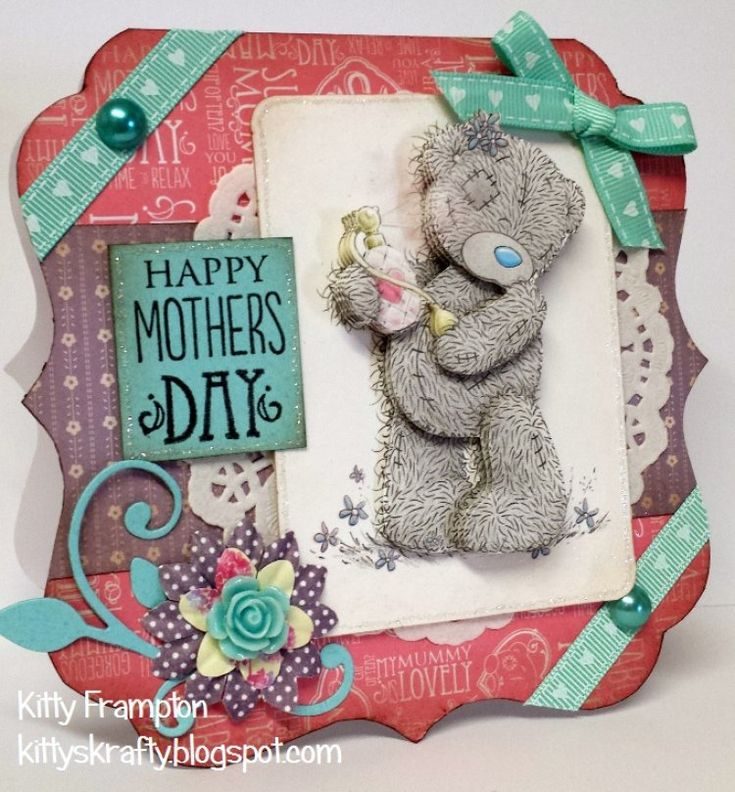 Tatty Teddy Mother's Day tutorials with the beautiful Me to You papercraft collection…