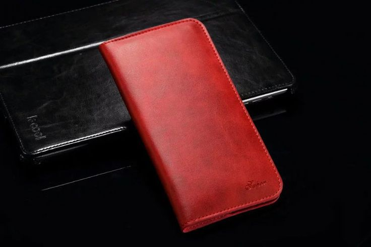 Amazing Pouch Case iPhone 7 Leather Red
