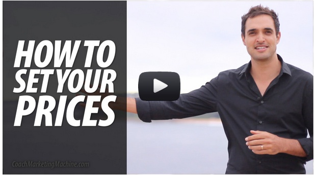 Ever wondered how to set your prices as a coach? Most coaches are underconfident, and undercharging. This week's video shows you how to charge what you're worth, and get it: http://coachmarketingmachine.com/coach-marketing-machine-news/how-to-set-your-prices-as-a-coach/