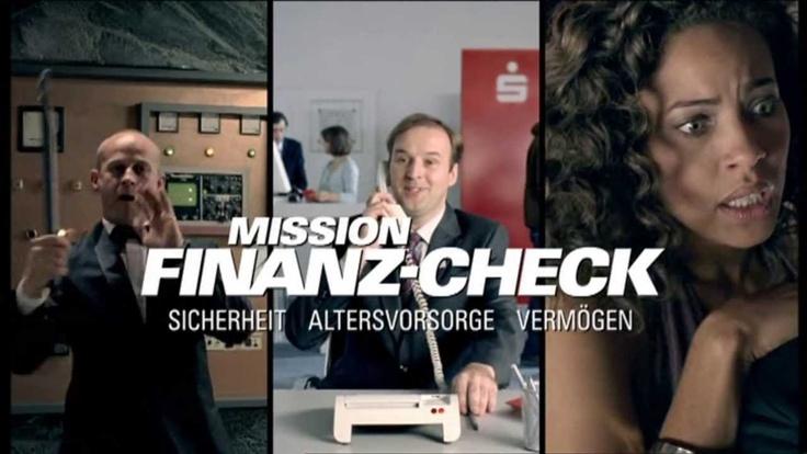 """SPARKASSE Werbung """"Mission Finanzcheck"""" Werbung mit Jürgen Vogel 2009"""