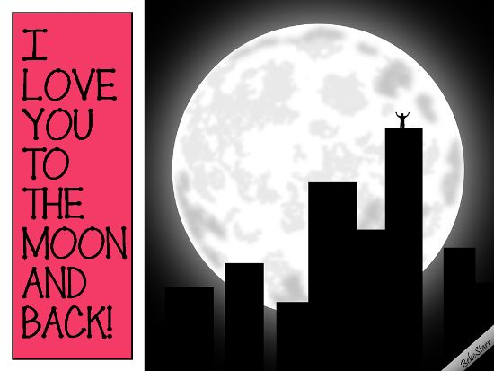 #FullMoon #ecard www.123greetings.com/profile/bebestarr #love