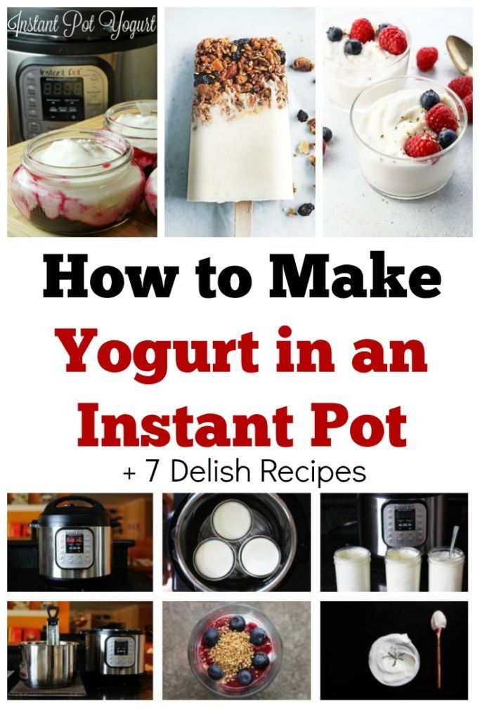 How to Make Yogurt in an Instant Pot. I didn't realize how easy it was and now I'm hooked. I've rounded up some of the best ideas on how you can get started with this fab kitchen appliance.