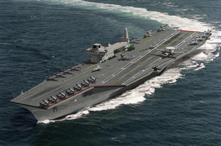 Future Warships Concepts Cvf Future Aircraft Carrier Cvf