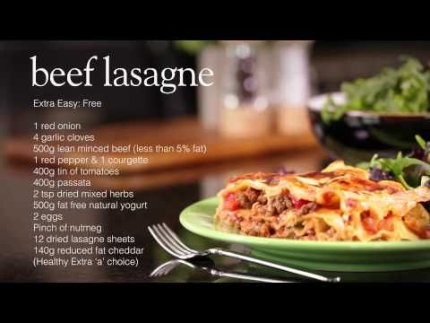 Beef lasagne - Recipes - Slimming World - Syn Free