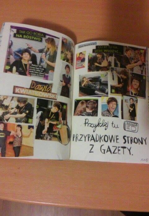 Podesłała Ania Małecka #zniszcztendziennikwszedzie #zniszcztendziennik #kerismith #wreckthisjournal #book #ksiazka #KreatywnaDestrukcja #DIY