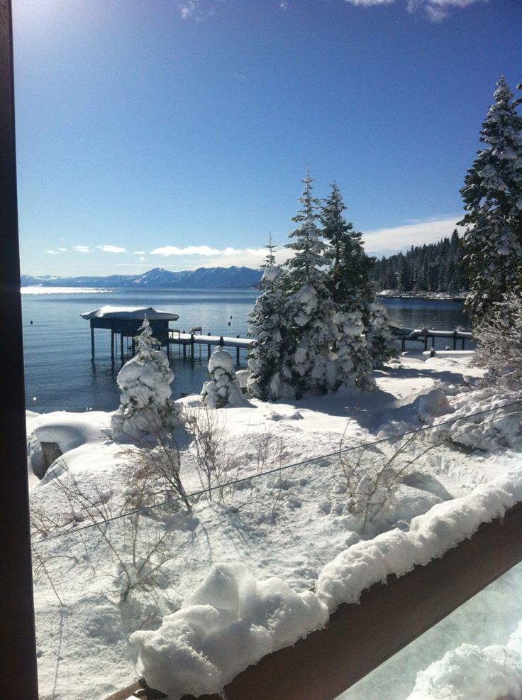 Lake Tahoe Winter Wallpaper Desktop Background: Places I Live...or Want To Live