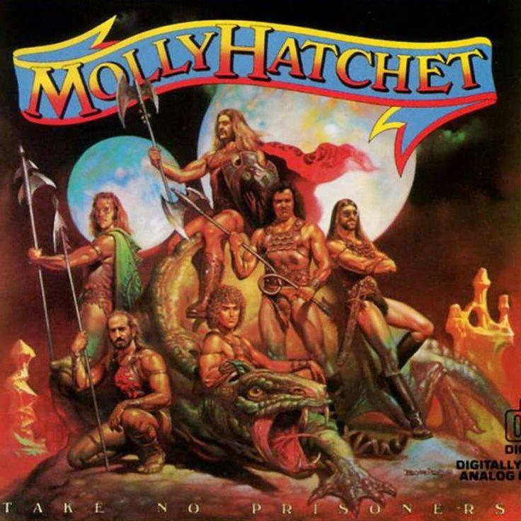 Molly Hatchet - Take No Prisoners boris vallejo