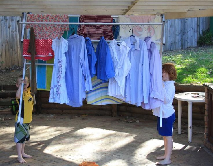 Superb Portable, Lightweight Washing Line Laundry Solution. Dry Clothes Indoor Or  Outdoor, Rust Proof Eco Friendly