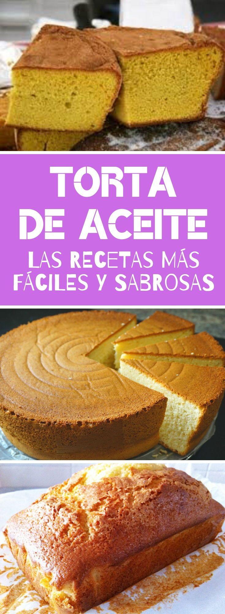 Torta De Aceite Tienes Que Darte El Gusto De Probar Esta Sabrosa Y Fácil Receta Quiero Quierocakesblog Tortas Torta De Vainilla Receta De Torta