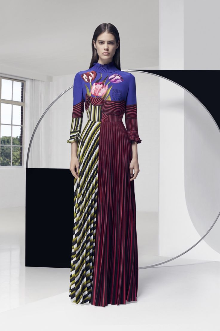 See all the runway and model photos from the Mary Katrantzou Resort 2016  collection.