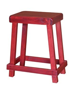65% OFF 2 Day Designs Chef's Stool (Rouge)
