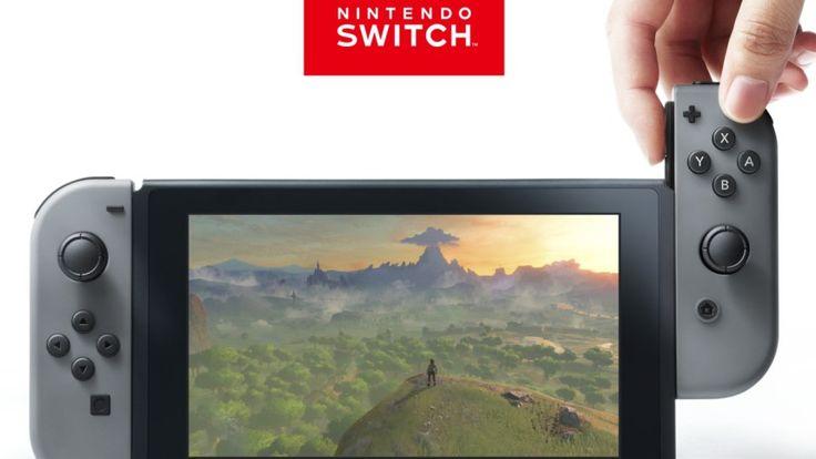 """Nintendo Switch ist eine Videospielkonsole des Herstellers Nintendo, die zuvor unter dem Codenamen """"Nintendo NX"""" bekannt war. Sie erscheint im März 2017 und besteht aus einem Handheld und einer..."""